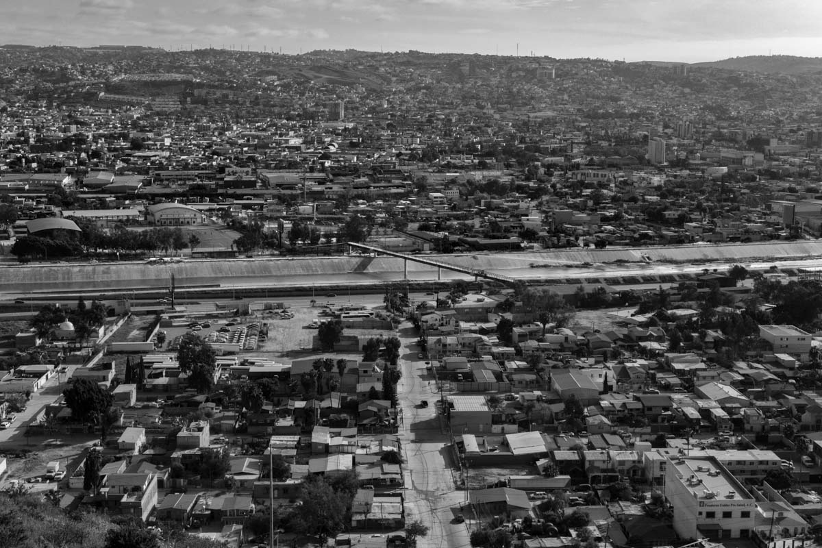 TIJUANA, BAJA CALIFORNIA, MEXICO - MARCH, 2017: Main view of Tijuana