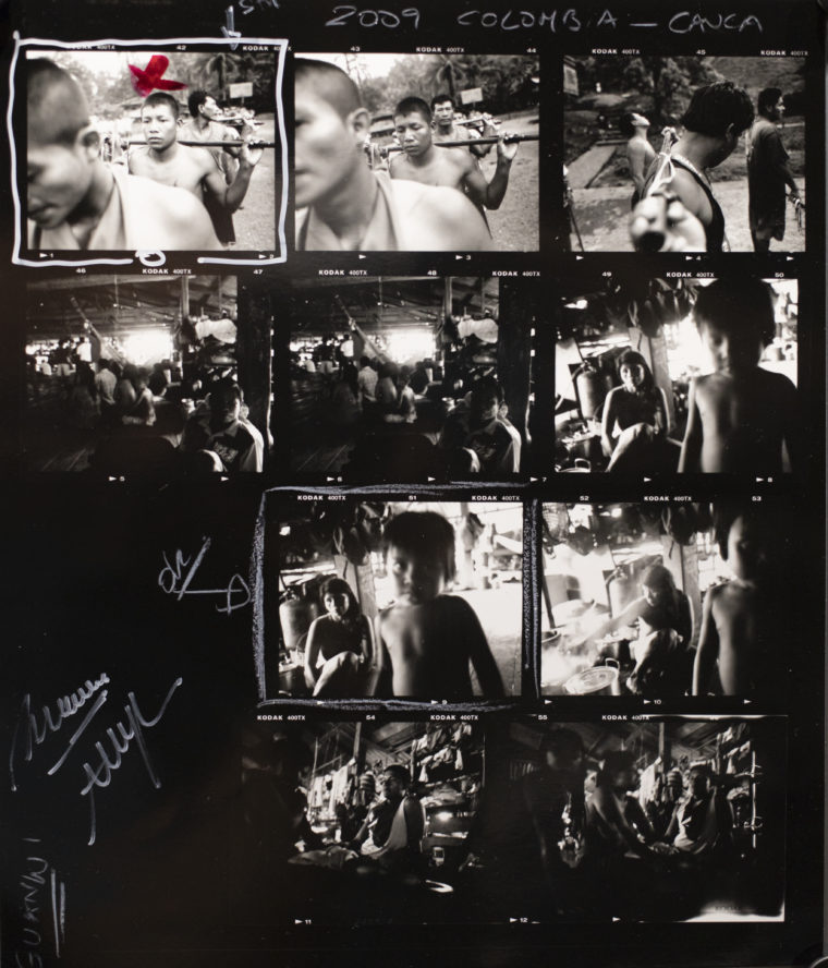 contact sheet Colombia