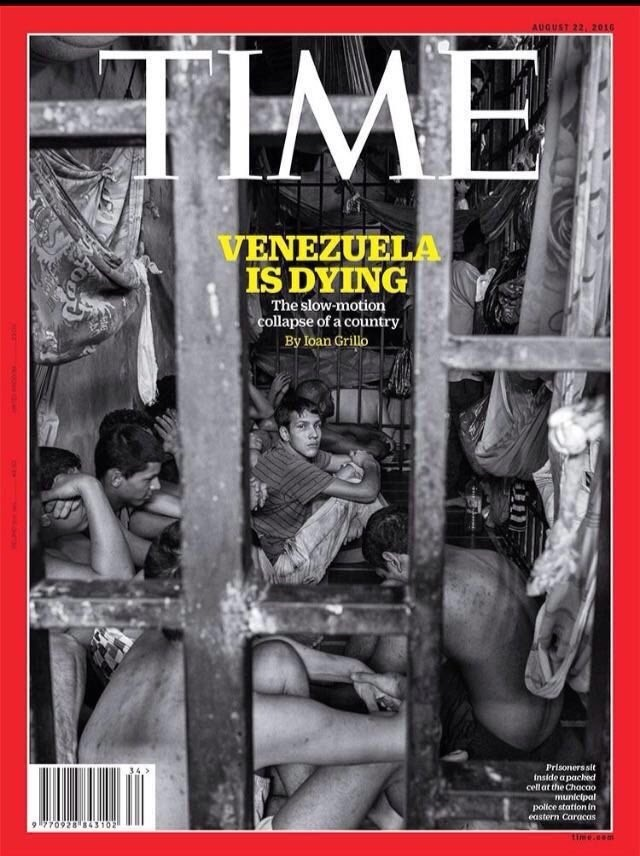 Cover Time Venezuela is Dying